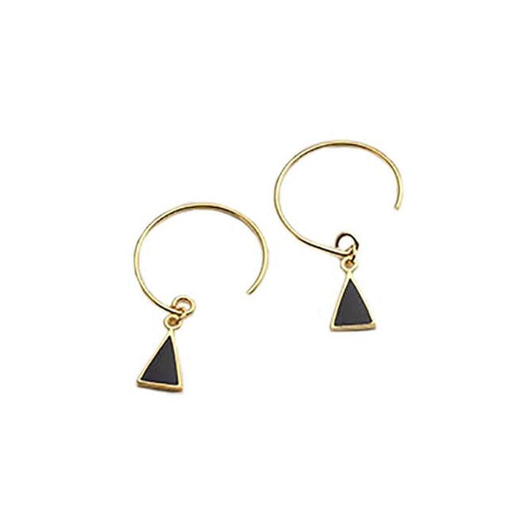Round Circle Stud Earrings for Women Girls 925 Sterling Silver Twist Open Circle Stud Earrings