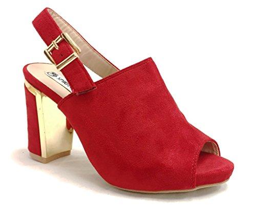 [Spirit ERICA Womens Sling Back Slide Mule Sandal 3