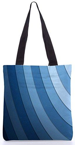 Snoogg Ton Waves13.5 x 15 Zoll-Shopping-Dienstprogramm-Einkaufstasche aus Polyester-Segeltuch gemacht