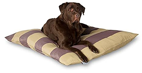 Darling Little Place Cama para Perros, 110 x 110 cm, Ruby Stripes: Amazon.es: Productos para mascotas