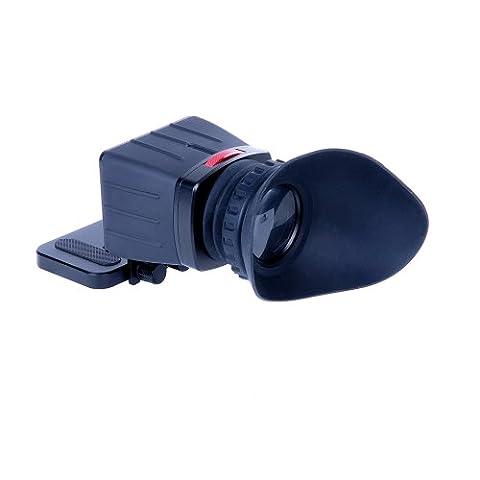 Sevenoak SK-VF01 2.5X LCD View Finder for Canon 7D 600D Nikon D7000 D5100 D90 DSLRs Cameras (Sevenoak Viewfinder)