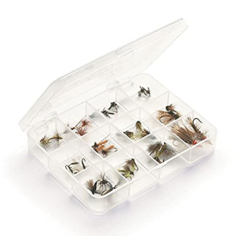Myran Fly Boxes 1120; 12 Compartment - 12 Compartment Fly Box