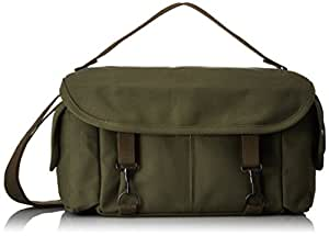 Domke F-2 Original Shoulder Bag 700-02D (Olive) for Canon, Nikon, Sony, Leica, Fujifilm & Olympus DSLR or Mirrorless Cameras with Space for Multiple Lenses up to 300mm and Accessories