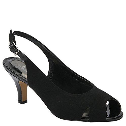 Ros Hommerson Women's Lana Black Casual Sandals 7.5 WW