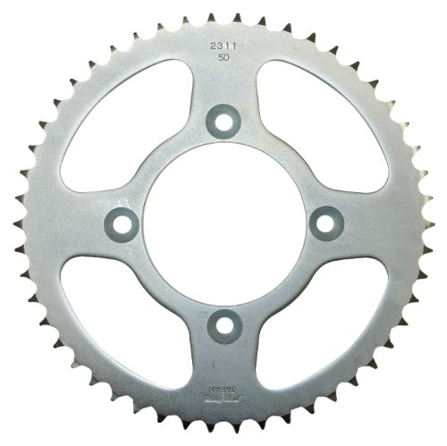 Sunstar 2-231150 50-Teeth 428 Chain Size Rear Steel Sprocket (Sprocket Rear Wheel Tooth)