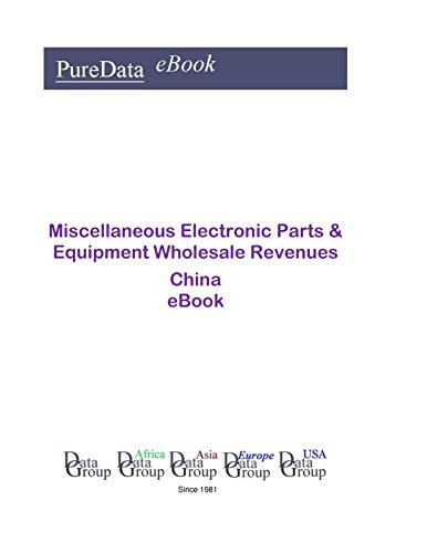 Miscellaneous Electronic Parts & Equipment Wholesale Revenues China: Product Revenues in China (China Wholesale Electronics)