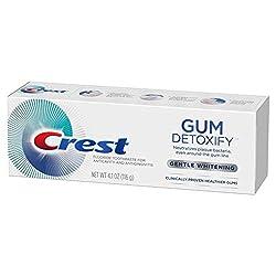 Crest Gum Detoxify Gentle Whitening Fluoride Toothpaste - 4.1 oz