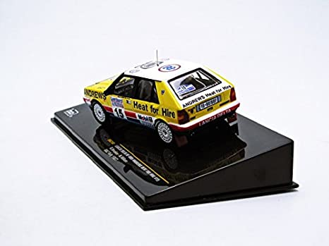 Amazon.com: Lancia Delta HF 4WD Andrews Heat for Hire #15 RAC Rallye 1987 1:43 Ixo: Toys & Games