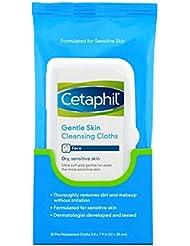 Cetaphil Gentle Skin Cleansing Cloths, Dry Sensitive Skin, 25 Count (Pack of 3)