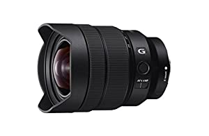 Sony SEL1224G 12-24mm f/4-22 Fixed Zoom Camera Lens, Black