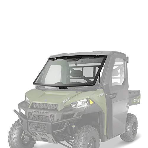 Polaris New OEM UTV Lock & Ride Pro Fit Tip Out Glass Windshield, 2882189