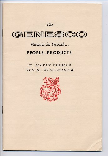 The Genesco Formula For Growth  People  Products  Newcomen Address