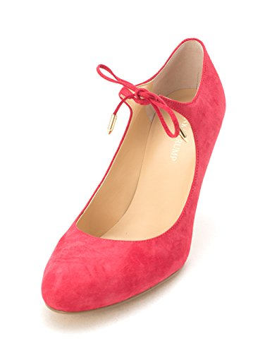 Suede Femmes Red Trump Medium À Chaussures Ivanka Talons xwY05qZq8