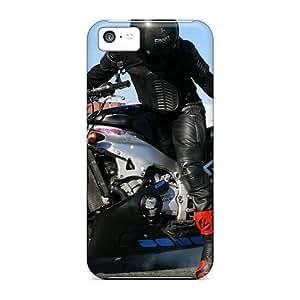 DaMMeke Premium Protective Hard Case For Iphone 5c- Nice Design - Yamaha