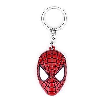 Inveroo Superhéroe Héroe Spider-Man Llavero Superhéroe ...