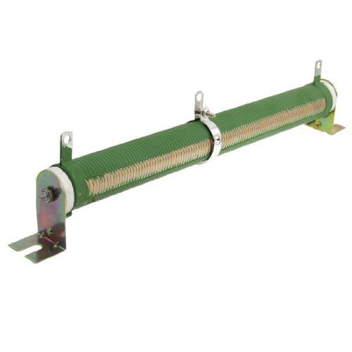 uxcell 200W Watt 100 Ohm Ceramic Tube Adjustable Rheostat Resistor