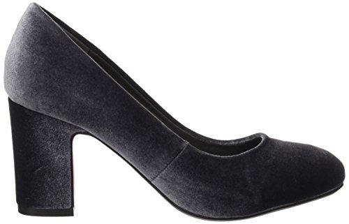 gris Para Tacn Zapatos 030487 Cerrada Gris Mujer Xti De Punta Con vgf4nq