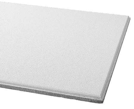 Acoustical Ceiling Tile 24''X24'' Thickness 3/4'', PK12 by Armstrong