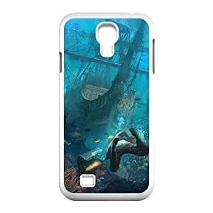 Assassins Creed Black Flag Samsung Galaxy S4 90 Cell Phone Case White persent xxy002_6927291