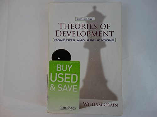 Theories of DevelopmentConcepts and Applications