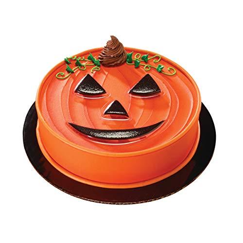 Halloween Pumpkin Face Pop Top Cake Topper - 8 Pieces - 18094]()