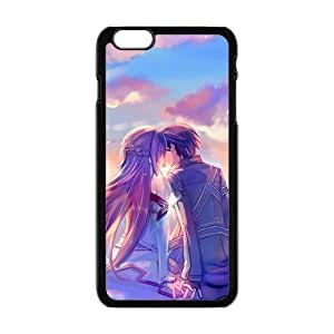 LJF phone case Beautiful romantic lover Cell Phone Case for Iphone 6 Plus