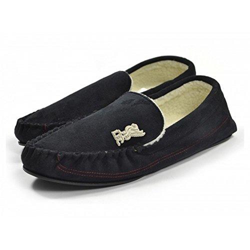 Liverpool Heren Mocassin Pantoffels Zwart