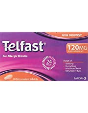Telfast 120mg 10s Non Drowsy