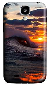 Samsung S4 Case Cool Surf Wave Sunset 3D Custom Samsung S4 Case Cover