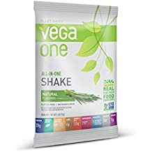 SAMPLE SIZE Vega One All in One Nutritional Shake, Natural, 1.4 Ounce