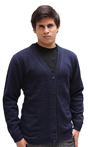 mens-alpaca-wool-golf-cardigan-sweater-v-neck-button-down-coat-m-navy-blue