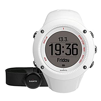 Suunto Ambit3 Run GPS Watch with Heart Rate (White)