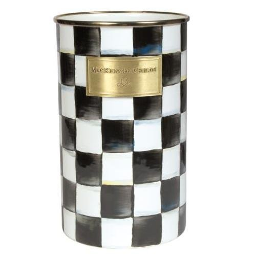 Courtly Check (MacKenzie-Childs Courtly Check Enamel Utensil Holder)
