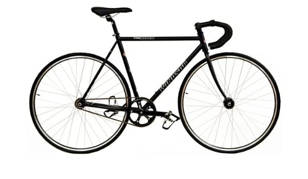 Amazon.com : Windsor Bikes The Hour Track Road Bicycles Gray ...