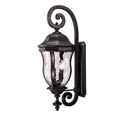 Savoy House KP-5-303-BK Four Light Wall Mount Lantern