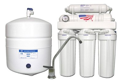 Under Sink Reverse Osmosis Water Filtration System 5 Stage   With Designed  Faucet