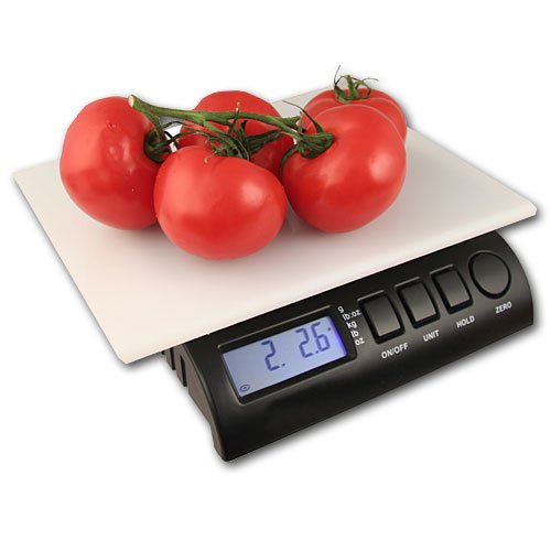 ZIEIS | 30 Lb. Capacity | Digital Kitchen Scale | ZIEIS BigTop 11.5