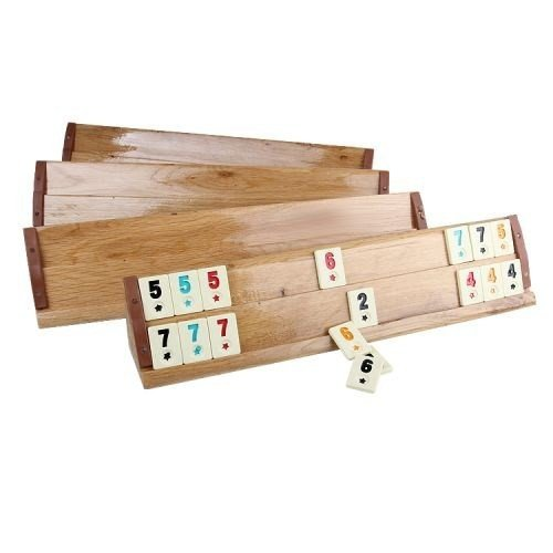 Wooden Okey Set For Party Time Great Family And Friends Fun Gift
