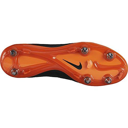 Nike Hypervenom Phantom Ii Lthr Sg-pro Scarpe Da Calcio Uomo Nero / Totale Arancione / Nero