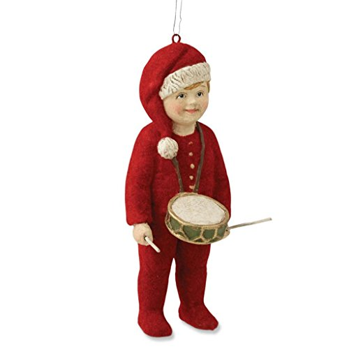 Bethany Lowe A Child's Christmas Lucien Drummer Boy Ornament