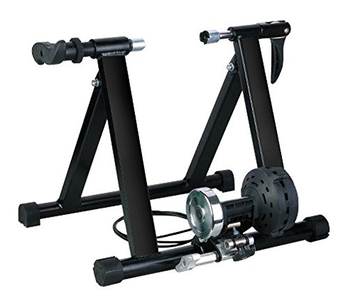 Five Adjustable Resistance Magnet Steel Bike Bicycle Indoor Exercise Trainer Stand