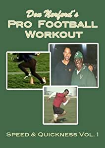 Don Norford's Pro Football Workout - Speed & Quickness Vol.1