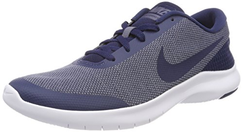 Nike Mens Flex Esperienza 7 Scarpe Da Corsa Midnight Navy Light Carbon
