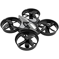 Owill Mini LED 2.4G 4CH 6Axis Gyro Headless Altitude Hold LED Remote Control Quadcopter (Gray)