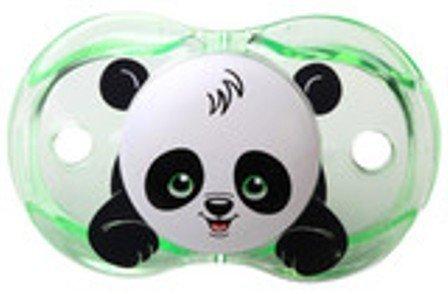 Razbaby Keep-It-Kleen Pacifier - Panky Panda , 0-36 Months