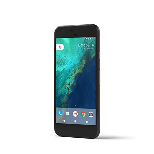 "PIXEL Phone by Google 128GB - 5"" inch - Factory Unlocked 4G/LTE Smartphone (Black) - International Version"