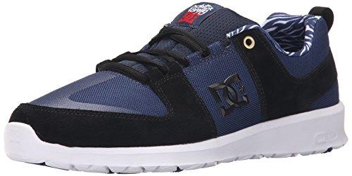 DC Men's Lynx Lite Deft Family Skate Shoe Black Navy