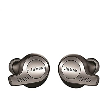 Jabra Elite 65t True Wireless Earbuds & Charging Case - Titanium Black