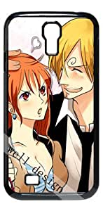 One Piece Japanese Anime Cartoon Nami HD image case for Samsung Galaxy S4 I9500 black + Gift