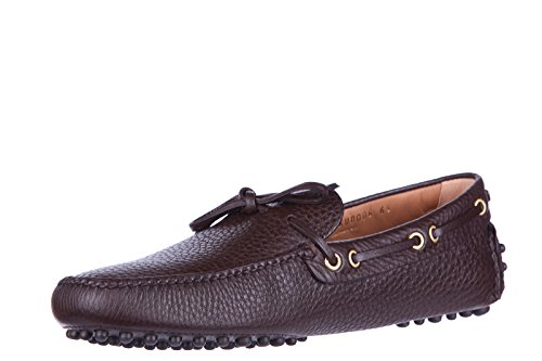 Car Shoe mocassini uomo in pelle originale marrone